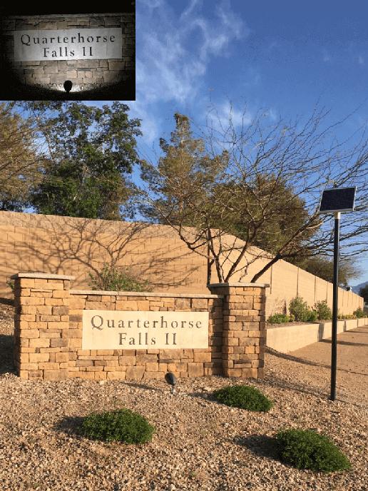 Entrance & Monument Sign Lighting